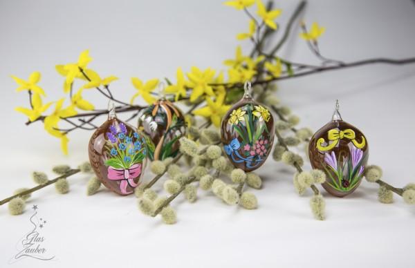 Ostereier aus Glas - Es wird Frühling
