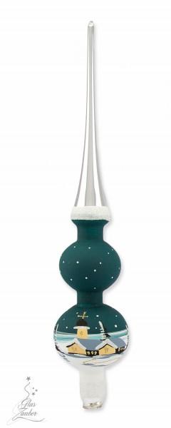 """Christbaum """"Spitze"""" - Höhe 27 cm - Tannengrün"""